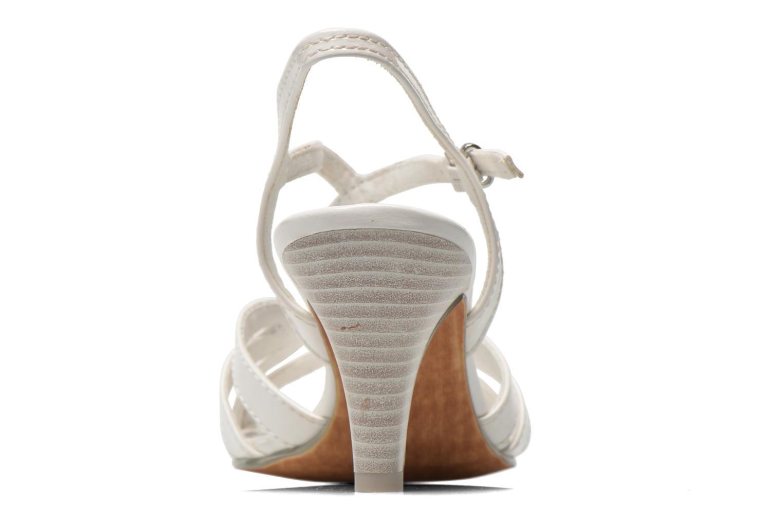 Sandales et nu-pieds Marco Tozzi Anafi Blanc vue droite