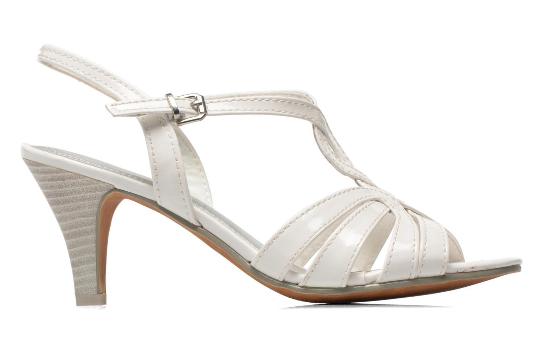Sandales et nu-pieds Marco Tozzi Anafi Blanc vue derrière