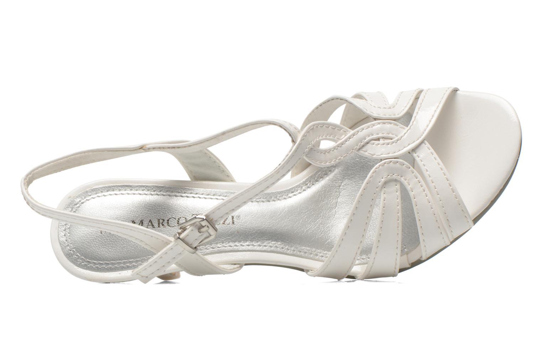 Sandales et nu-pieds Marco Tozzi Anafi Blanc vue gauche