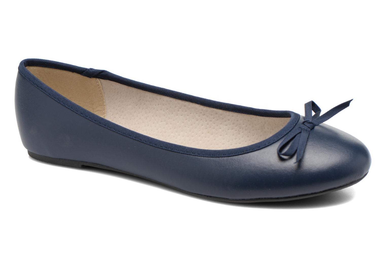 Ballerines Elizabeth Stuart Castel 851 Bleu vue détail/paire
