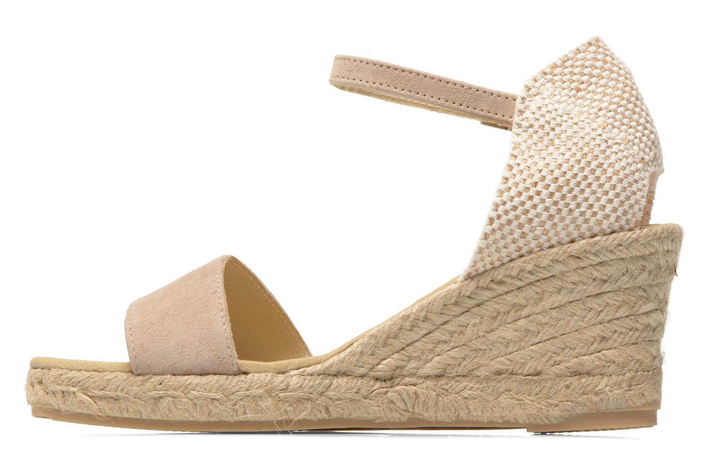 Sandals Elizabeth Stuart TreviseC 667 Beige front view