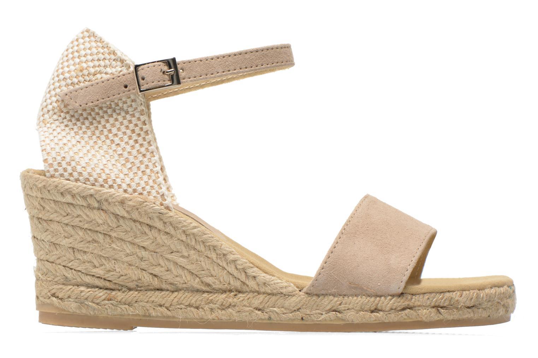 Sandales et nu-pieds Elizabeth Stuart TreviseC 667 Beige vue derrière