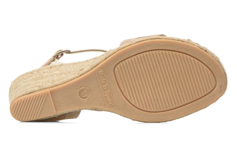 Sandales et nu-pieds Elizabeth Stuart TreviseC 667 Beige vue haut