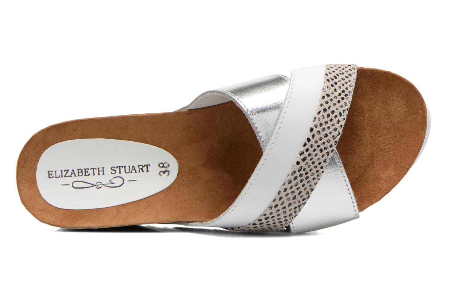 Sandals Elizabeth Stuart Yaris 882 White view from the left