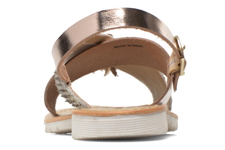 Sandali e scarpe aperte Elizabeth Stuart Polka 882 Oro e bronzo immagine destra