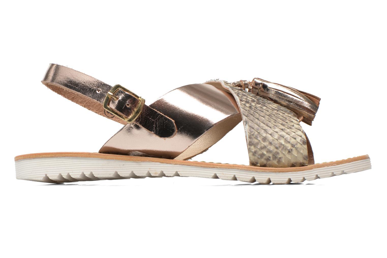 Sandali e scarpe aperte Elizabeth Stuart Polka 882 Oro e bronzo immagine posteriore