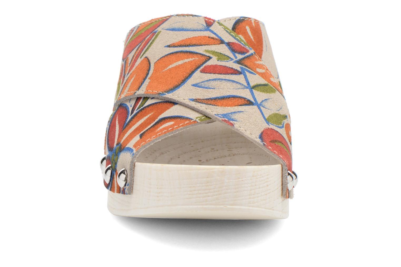 Mules et sabots Elizabeth Stuart Uty 870 Multicolore vue portées chaussures