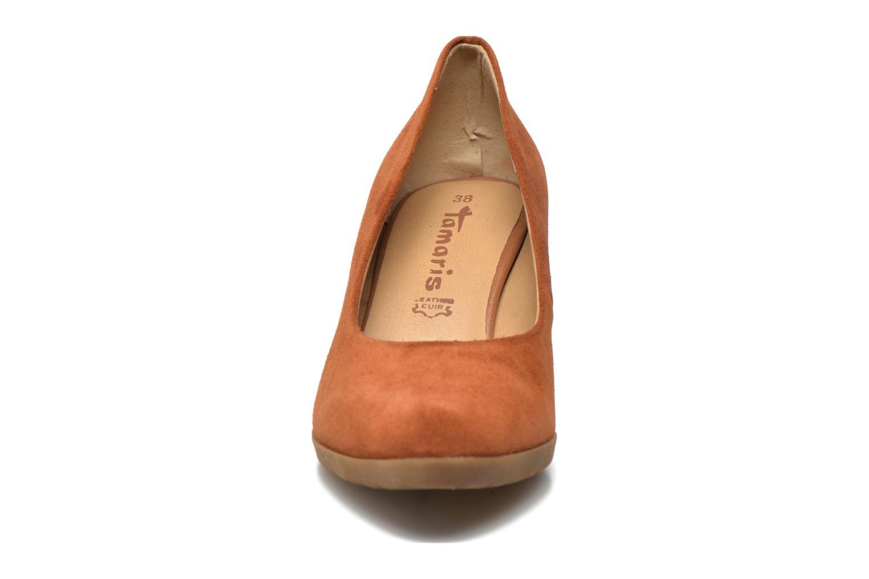 Escarpins Tamaris Koreka Marron vue portées chaussures