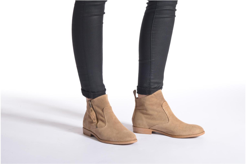 Bottines et boots Tamaris Bahova Beige vue bas / vue portée sac