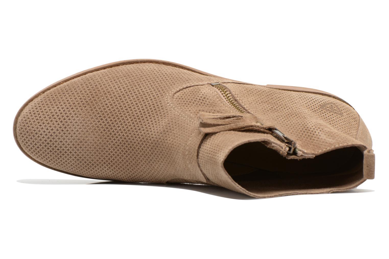 Bottines et boots Tamaris Bahova Beige vue gauche