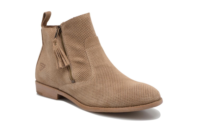 Bottines et boots Tamaris Bahova Beige vue détail/paire