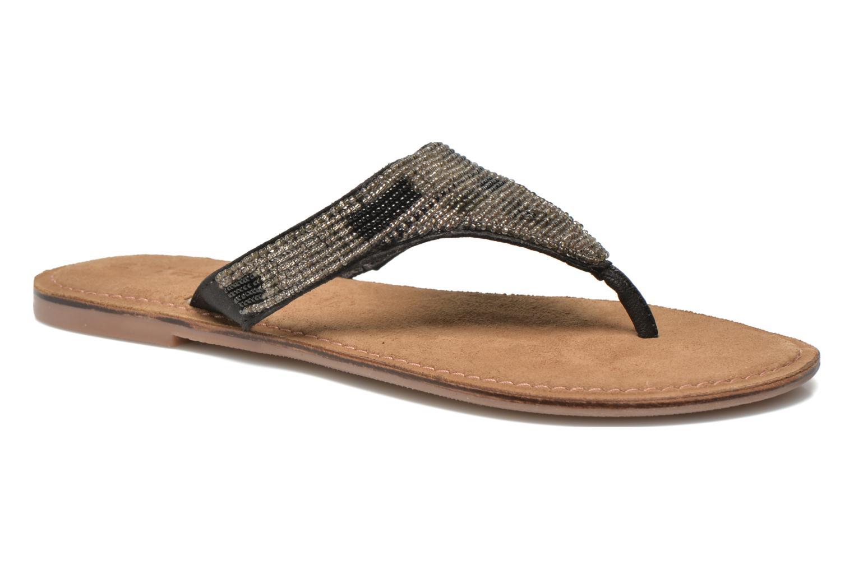 Flip flops Tamaris Goteka Black detailed view/ Pair view
