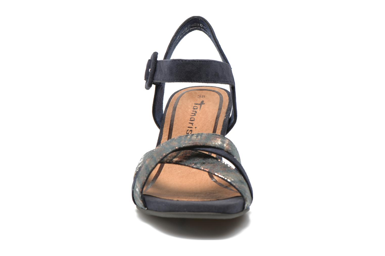Sandales et nu-pieds Tamaris Covuja Bleu vue portées chaussures