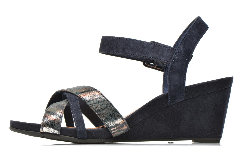 Sandales et nu-pieds Tamaris Covuja Bleu vue face