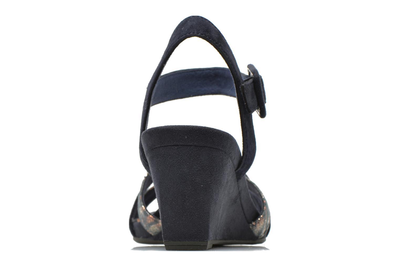 Sandales et nu-pieds Tamaris Covuja Bleu vue droite