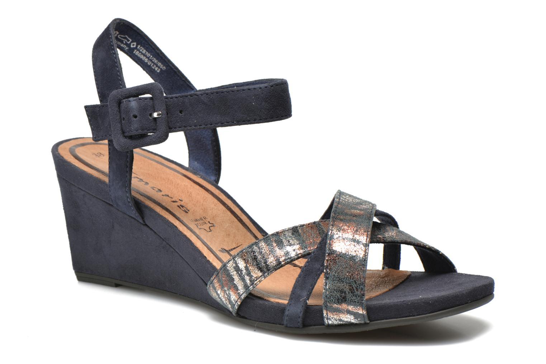 Sandales et nu-pieds Tamaris Covuja Bleu vue détail/paire