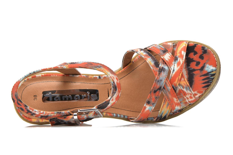 Sandales et nu-pieds Tamaris Atraba Multicolore vue gauche