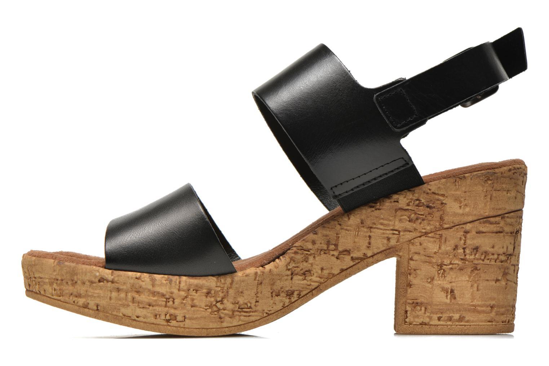 Sandales et nu-pieds Tamaris Bideca Noir vue face