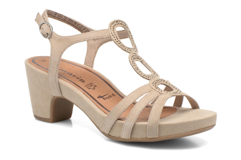 Sandales et nu-pieds Tamaris Forbina Beige vue détail/paire