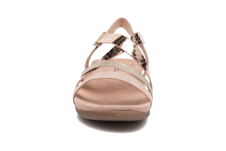Sandales et nu-pieds Tamaris Nurina Rose vue portées chaussures
