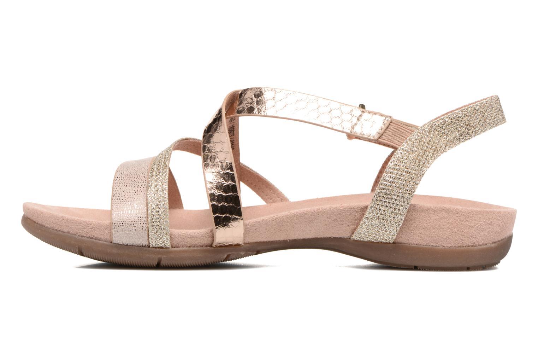 Sandales et nu-pieds Tamaris Nurina Rose vue face