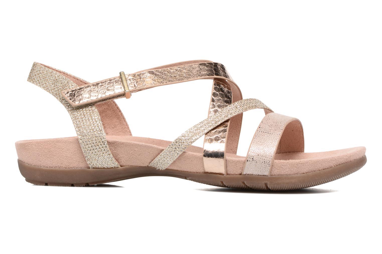 Sandals Tamaris Nurina Pink back view