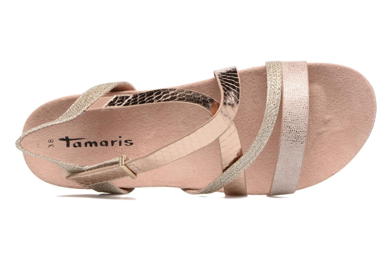 Sandales et nu-pieds Tamaris Nurina Rose vue gauche