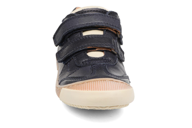 Baskets Bisgaard Didrik Bleu vue portées chaussures