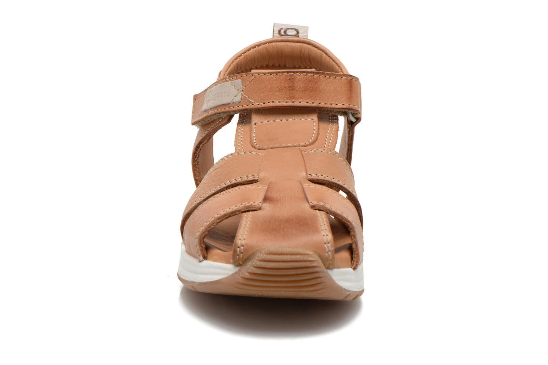 Sandales et nu-pieds Bisgaard Bent Marron vue portées chaussures