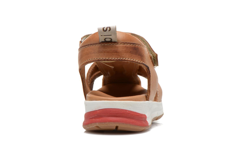 Sandales et nu-pieds Bisgaard Bent Marron vue droite