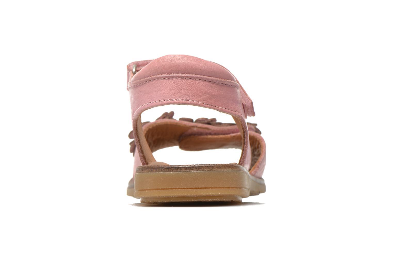 Sandales et nu-pieds Bisgaard Nicha Rose vue droite