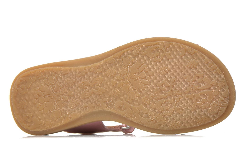 Sandales et nu-pieds Bisgaard Nicha Rose vue haut