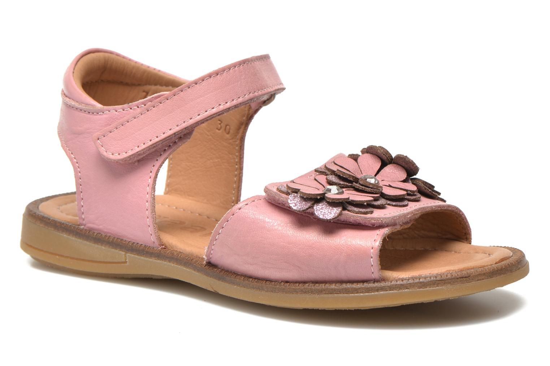 Sandales et nu-pieds Bisgaard Nicha Rose vue détail/paire