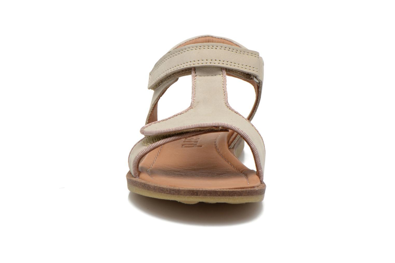 Sandales et nu-pieds Bisgaard Phoebe Beige vue portées chaussures