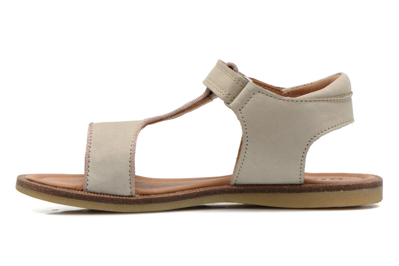 Sandales et nu-pieds Bisgaard Phoebe Beige vue face