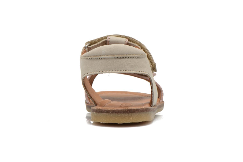 Sandales et nu-pieds Bisgaard Phoebe Beige vue droite