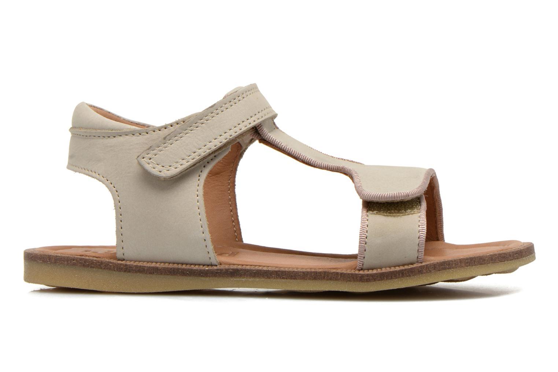Sandales et nu-pieds Bisgaard Phoebe Beige vue derrière