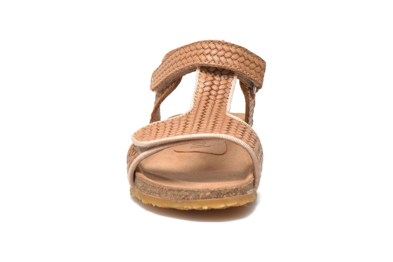 Sandales et nu-pieds Bisgaard Alia Beige vue portées chaussures