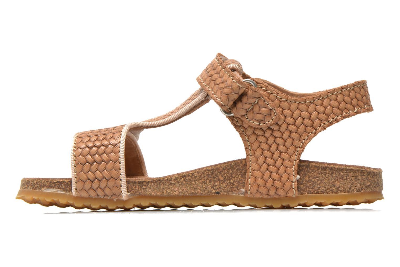 Sandales et nu-pieds Bisgaard Alia Beige vue face