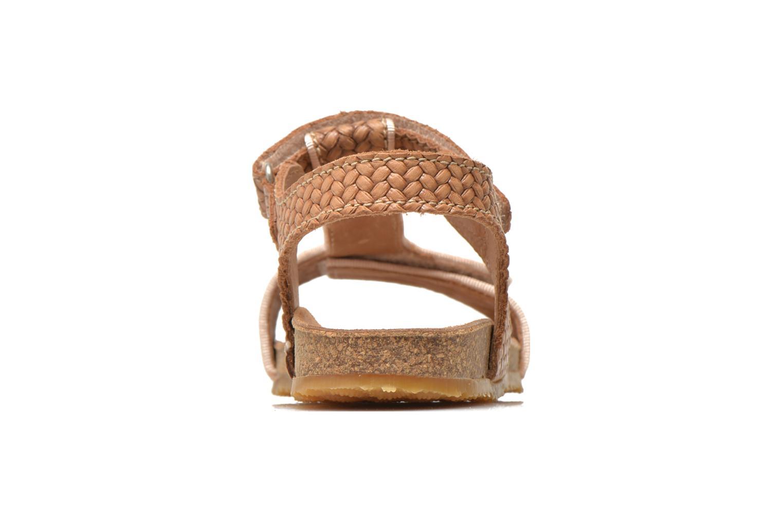 Sandales et nu-pieds Bisgaard Alia Beige vue droite