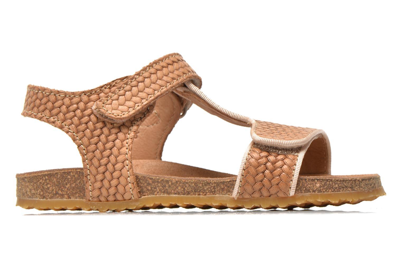 Sandales et nu-pieds Bisgaard Alia Beige vue derrière