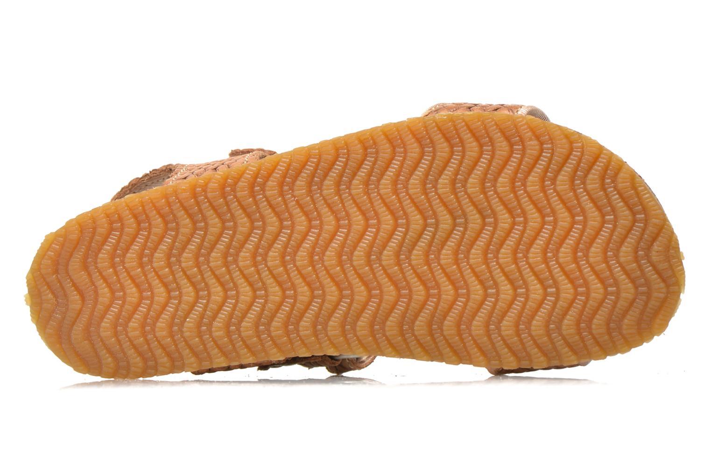 Sandales et nu-pieds Bisgaard Alia Beige vue haut