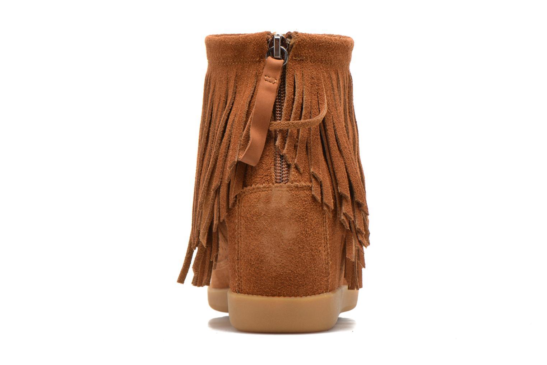 Bottines et boots Shoe the bear Emmy Fringes Marron vue droite
