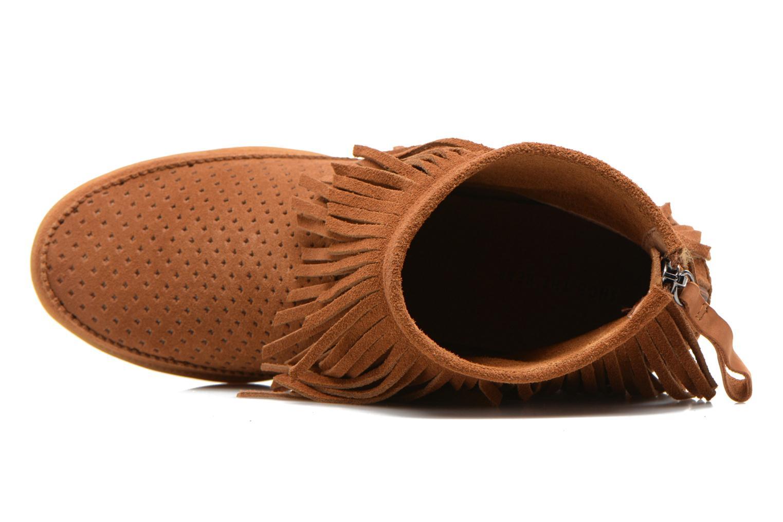 Bottines et boots Shoe the bear Emmy Fringes Marron vue gauche
