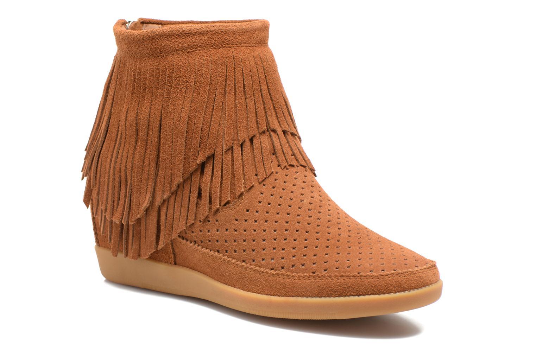 Bottines et boots Shoe the bear Emmy Fringes Marron vue détail/paire