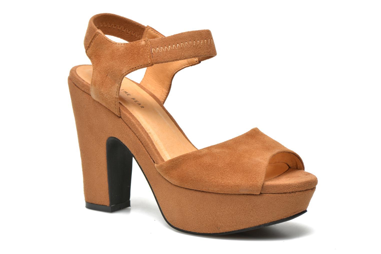 Sandaler Shoe the bear Sandy Brun detaljeret billede af skoene