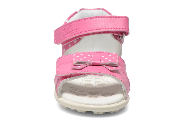Sandales et nu-pieds Chicco Gigia Rose vue portées chaussures