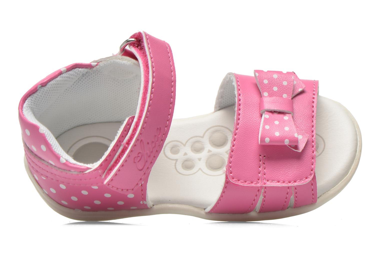 Sandales et nu-pieds Chicco Gigia Rose vue gauche