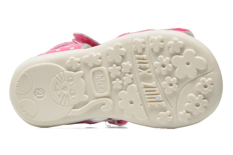 Sandales et nu-pieds Chicco Gigia Rose vue haut