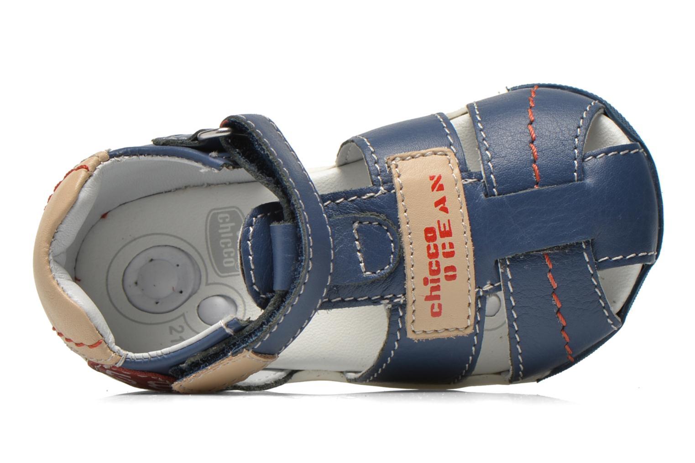 Sandales et nu-pieds Chicco Gedin Bleu vue gauche